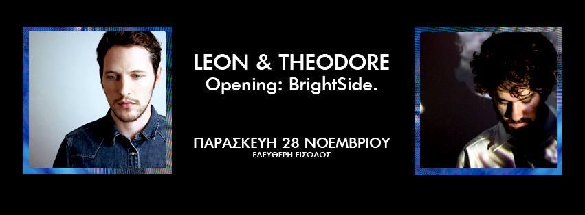 Leon Theodore BrightSide. cover
